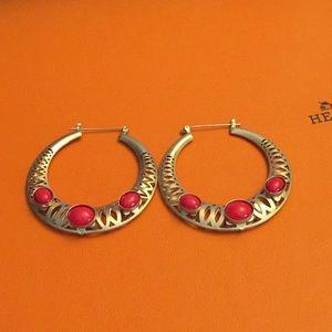 Nice earrings